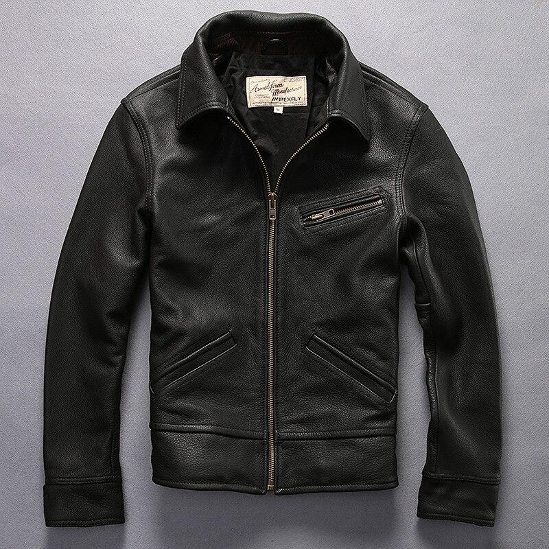 Popular Vintage Brown Leather Jacket-Buy Cheap Vintage Brown ...