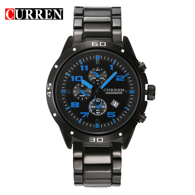 CURREN Watch Men Quartz-Watch Luxury Brand Men's Watch Clock Men Wrist watches Relogio Masculino Fashion reloj hombre 8021 yazole watch men quartz watch luxury brand men watches fashion casual clock men wrist watches relogio masculino reloj hombre