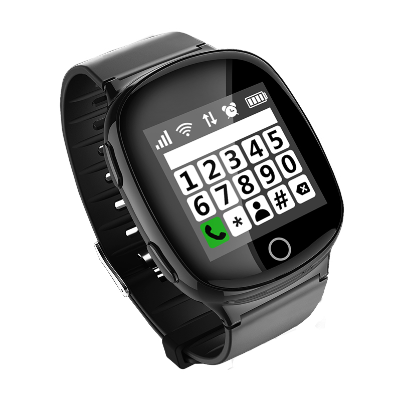 Kids Elderly Smart Watch GPS+LBS+WIFI Positioning Anti lost Heart Rate Sports Tracker Fall Alarm SOS Wristwatch pk T58 Q90 D99-in GPS Trackers from Automobiles & Motorcycles    3