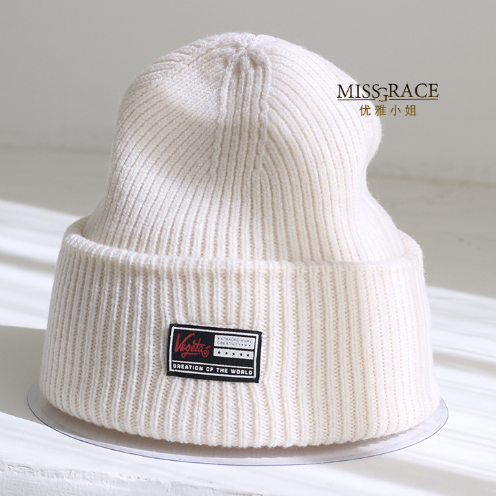 Autumn and winter thermal pure wool knitted hat male women's general black pocket hat knitted hat all-match brief lovers beanies комод мф мастер финк 84 мст куф 84 16 бук