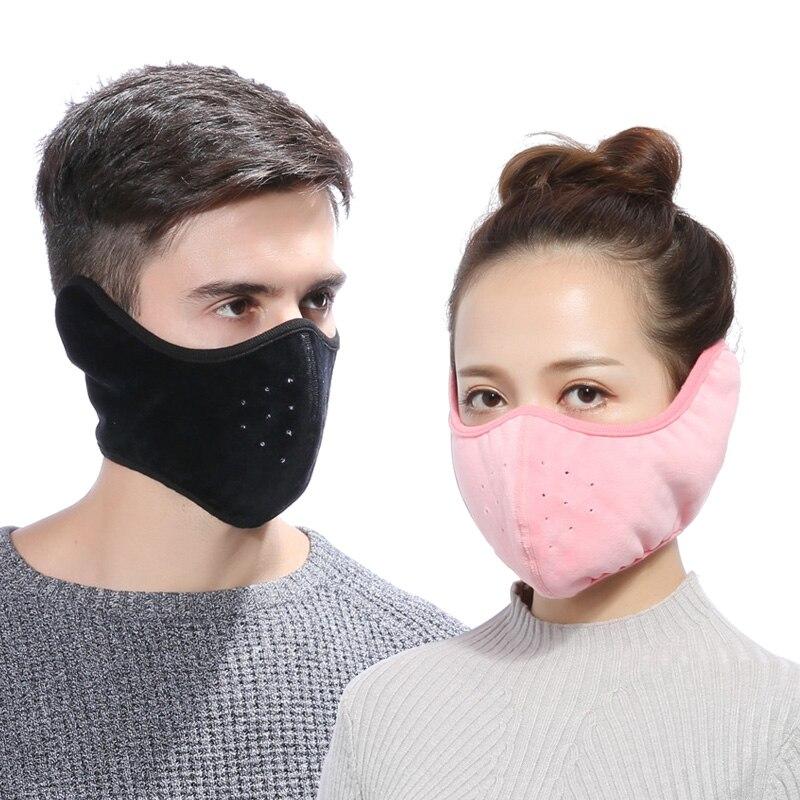 Bekleidung Zubehör Damen-accessoires Aus Dem Ausland Importiert 2018 Männer Frauen Neue Warme Halbe Gesicht Maske Winter Zubehör Winddicht Außen Maske Ad0663