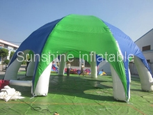 Free shipping outdoor large inflatable tent with waterproof canopy, inflatable camping tent, inflatable dome for sale