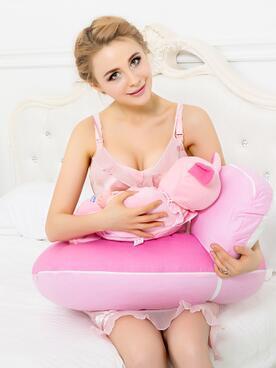 Frete grátis Na Venda de 100% Do Bebê Do Algodão Travesseiro De Enfermagem Para A Amamentação Usar Travesseiro de Algodão Do Bebê 2 Pcs um Conjunto