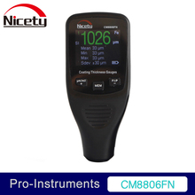 Nicety CM8806FN Car Body Tester Detailing Tool Auto Coating Thickness Gauge Car Paint meter 50mil 1250um
