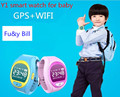 Y1 GPS + WIFI мобильный телефон APP позиционирования дети SOS смарт часы PK Q80 Q90 VK7 Q50 Q60