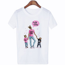 WVIOCE Fashion Love Print White T-shirt Female T-shirt Mom T Shirt Women Streetwear Harajuku T Shirt Funny Round Neck Tops цена 2017