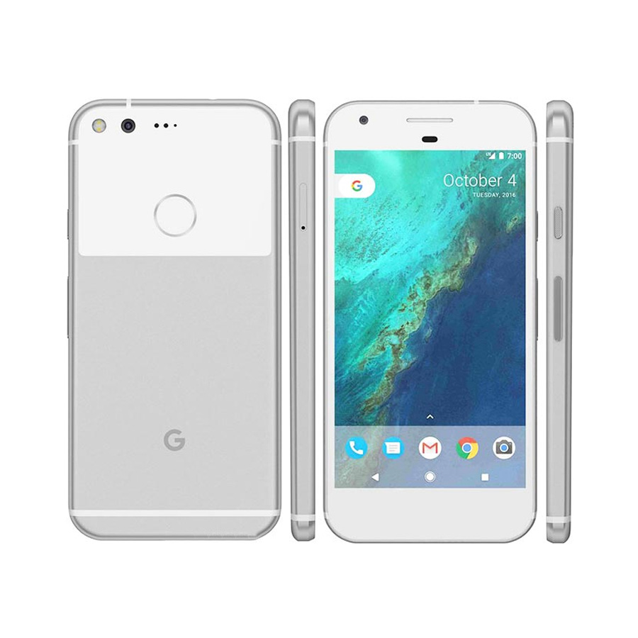 EU version Google Pixel LTE Mobile Phone 5.0 4GB RAM 128GB ROM Quad Core Snapdragon 821 Android 7.1 NFC Fingerprint SmartPhone