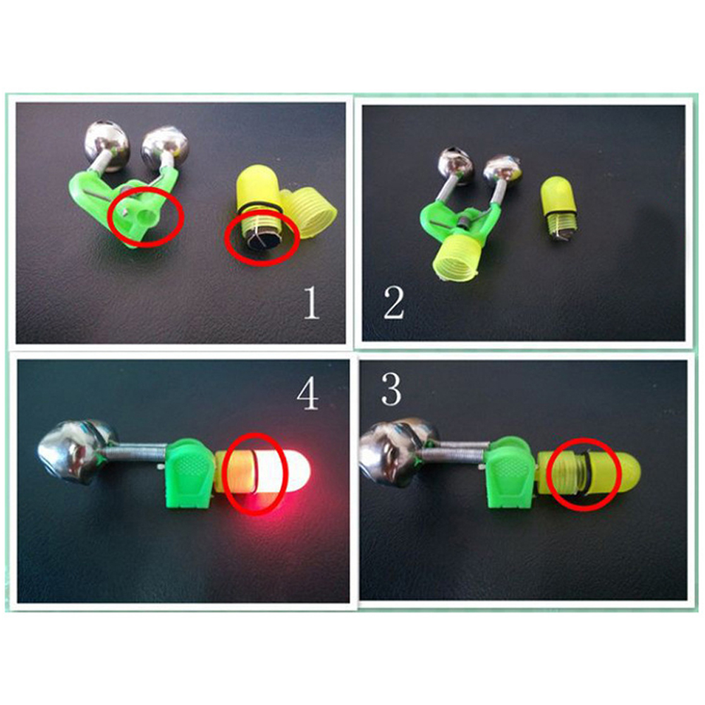 led fishing bells