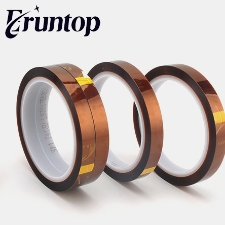 5mm-20mm Polyimide Heat High Temperature Resistant Adhesive Gold Tape 260-300 Degree For 3D Printer Platform / Electric Task high temperature heat resistant polyimide adhesive tape 65mm x 30m 260 300 degree new for electronics industry
