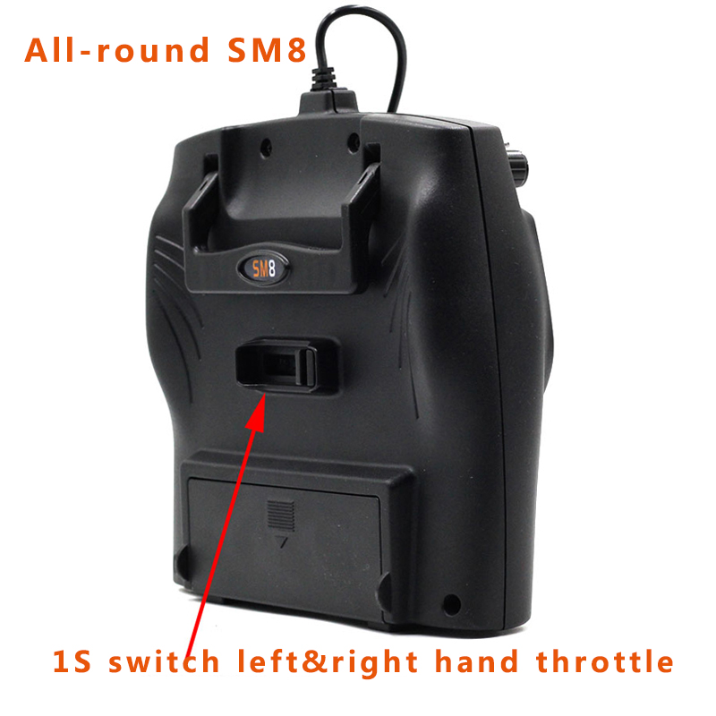 2019 New 8ch All-round SM8 Simulator 1S Switch Left Right Hand Throttle Double Return Support Phoenix 5.5M G7.5 G7-G2 XTR FMS Et