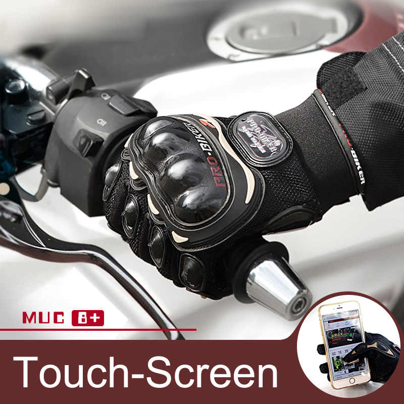 Pro-motociclista tela sensível ao toque luvas da motocicleta luvas de motocicleta luvas de motocross luvas de corrida guantes moto vermelho rosa preto s xxl xxl