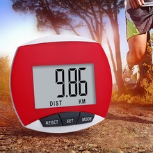 3D Premium Step Counter Fitness Digital Pedometer Waterproof Movement Calories for Running Walking with Clip