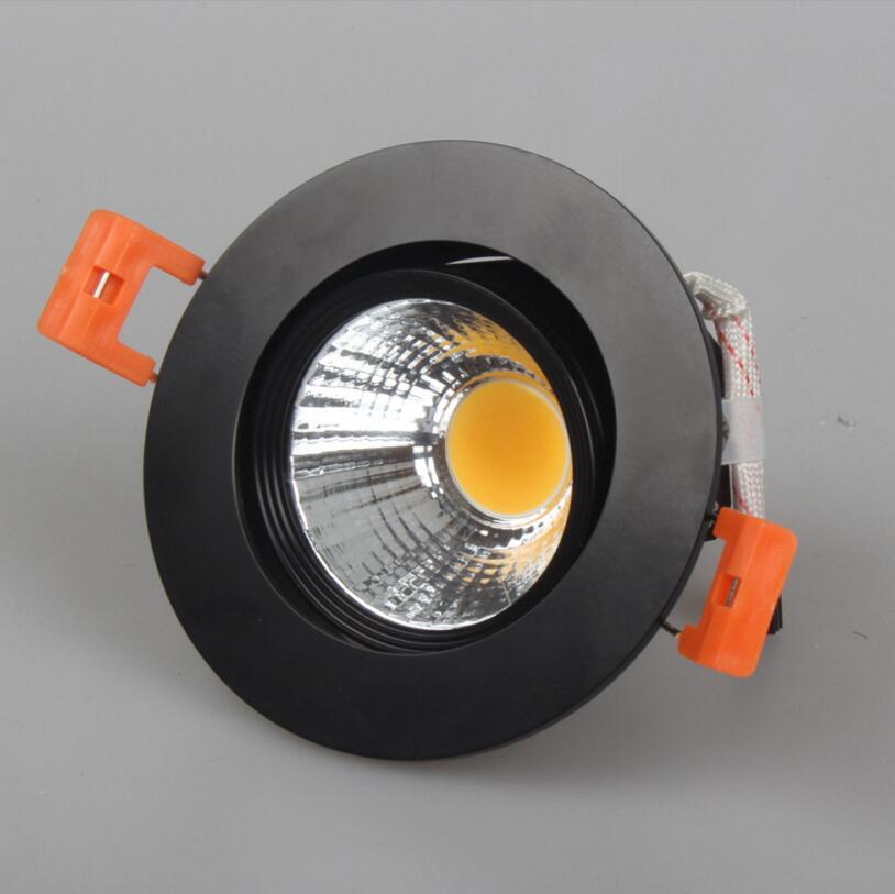 Factory Hot sale Dimmable 10w/15w cob down light recessed lighting led ceiling home white and warm nature