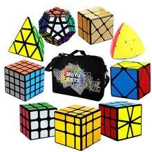 Cuber скоростной куб ось ветряная мельница Фишер маленькая Магия 3x3 Eitan Lvy куб зеркальный синий с черным углеродным волокном скоростной куб головоломка