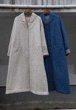 2015 зима новый оригинальный дизайн женщин старинные вышивка сгущает теплый хлопка-ватник парки пальто бренда элегантный белья пальто