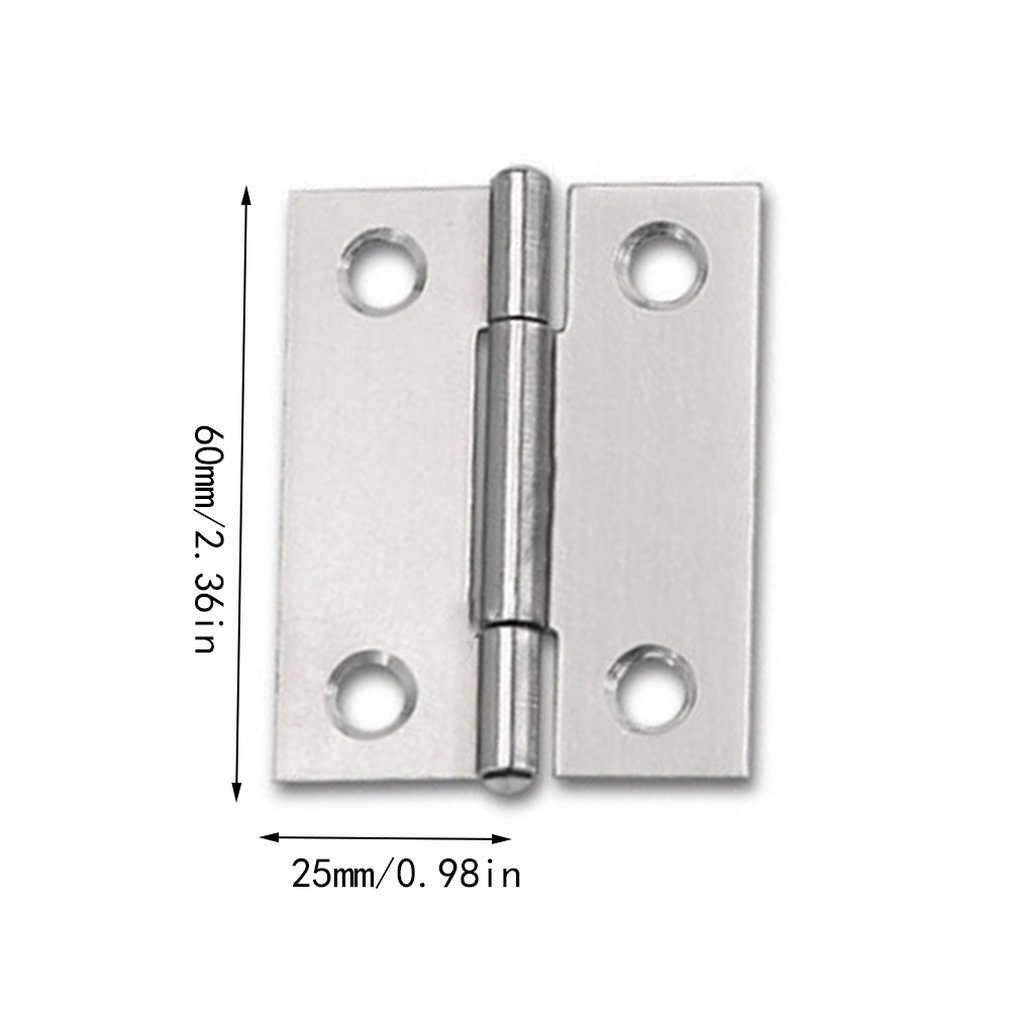 Small Hinge 1.5 Inch Wooden Box Door Small Hinge Thickened Door And Window Stainless Steel Vintage Hinge