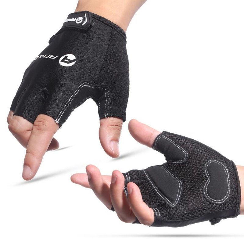 Cycling Gloves Half Finger Anti Slip Gel Pad Breathable Motorcycle MTB Road Bike Mens Gl ...