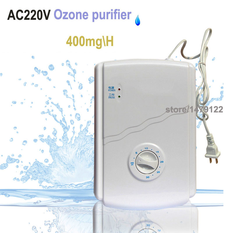 Portable Active Ozone Generator Sterilizer Air purifier Purification Fruit Vegetables water food Preparation ozonator ionizator bo 2205amt wholesale water purifier ozone with quartz tubes ozone generator sterilizer ozonator for water and air treatment