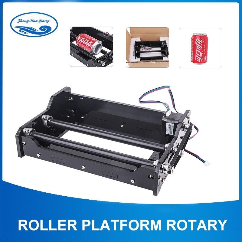 Rotation de rouleau de machine de gravure/cylindre de Coke consacré/axe de roulement/plate-forme pour la machine de gravure de laser/gravure de bureau