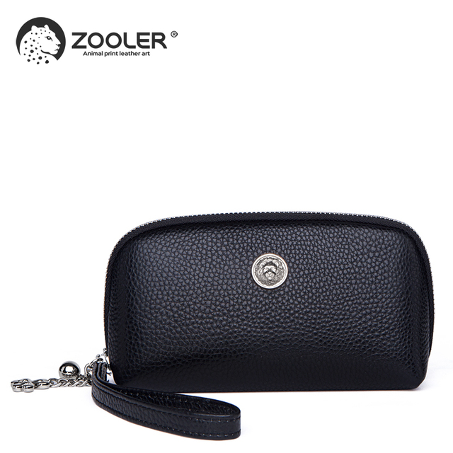ZOOLER Luxury wallets woman 2020 designer genuine leather bag for women Genuine cow leather coin purse mini small wallet-QH201