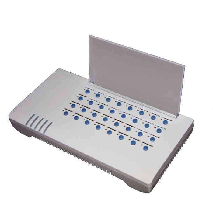32 порта sim-банк сервер, удаленное управление sim-картами, защита услуг, эмулятор поддержка DBL goip (автоматическое изменение IMEI + Автоматическое вращение SIM)