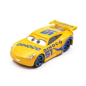 Image 4 - Disney Pixar Cars 3 Diecasts Toy Vehicles Miss Fritter Lightning McQueen Jackson Storm Cruz Ramirez Metal Car Model Kid Toy Gift