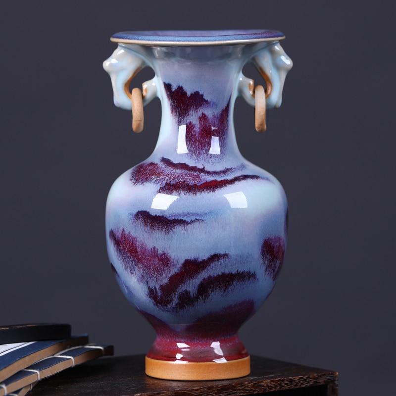 Fresh Mini Ceramic Small Vase Home Decor Gift Ideas And: Jingdezhen Ceramics Antique Porcelain Vase Small Fresh
