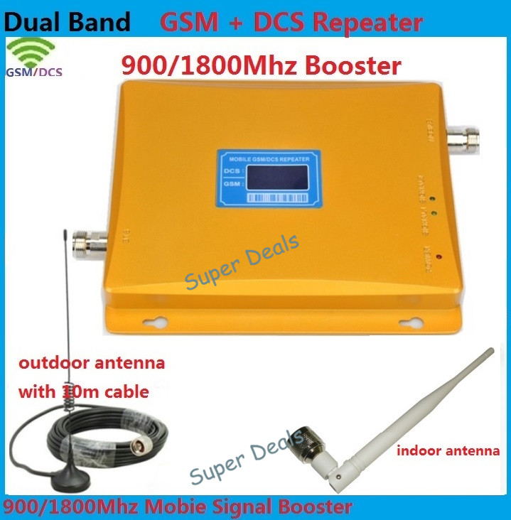 Mobile phone jammer Victoris   Cell Phone Signal Booster for GSM/DCS Dual Band (900MHz/1800MHz)