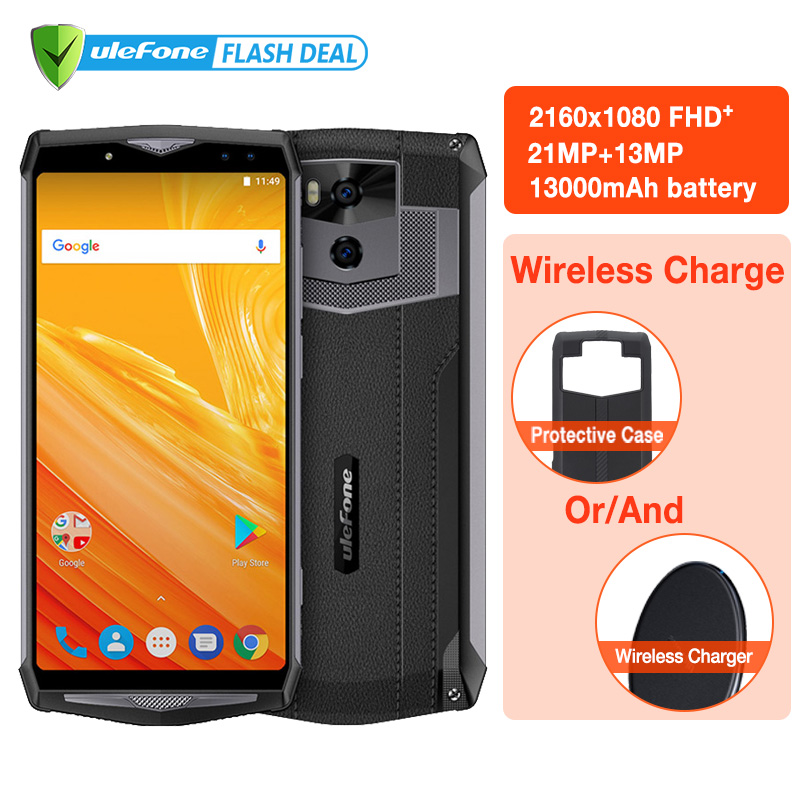 info for f088f fe1b8 US $279.99 |Original Ulefone Power 5 Kit UF002 Qi Wireless Charger High  Quality Original Black Silicone Case For Ulefone Power 5 -in Cellphones  from ...