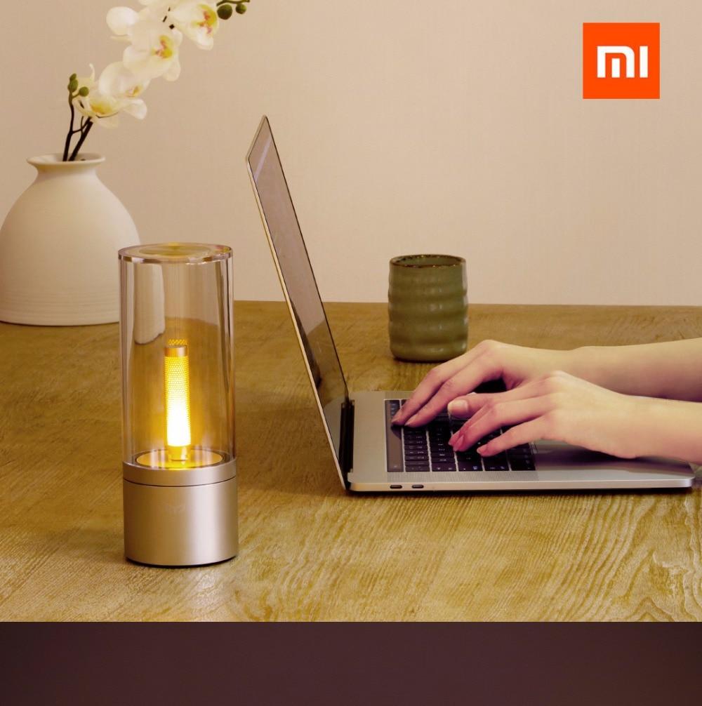 Original xiaomi mi jia Yeelight Candela Led de noche, la luz de la vela del humor inteligente, para la aplicación de xiaomi mi home - 4