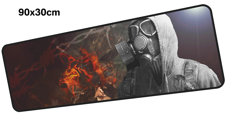 stalker mousepad gamer 900x300X3MM gaming mouse pad large HD print notebook pc accessories laptop padmouse ergonomic mat
