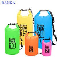2L 3L 10L Waterproof Dry Bag Water Resistant Swimming Storage Bag Pack Sack Rafting Kayaking Camping Floating Sailing Canoeing