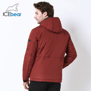 Image 4 - ICEbear 2019 automne nouvelle veste décontracté pour hommes col de mode hommes chapeau hommes marque veste MWC18107I