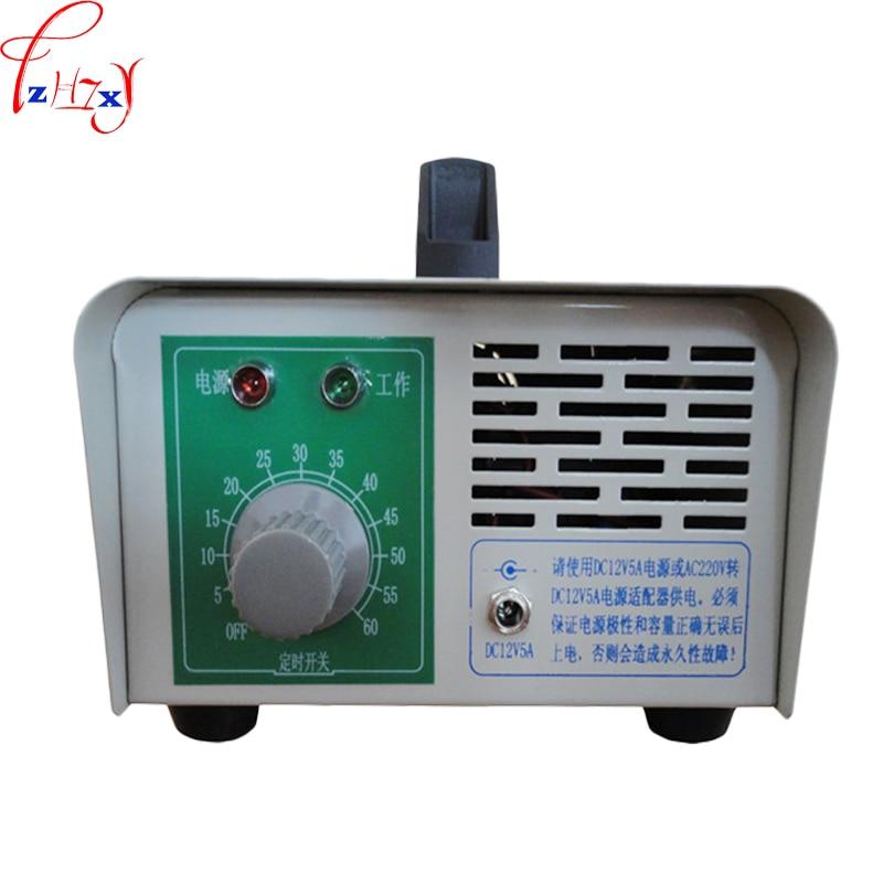 1 unidad DC12 K4G generador de ozono para vehículo, formaldehído desinfectado para descomponer el olor de la máquina generador de ozono 60W|Centro de mecanizado| |  -