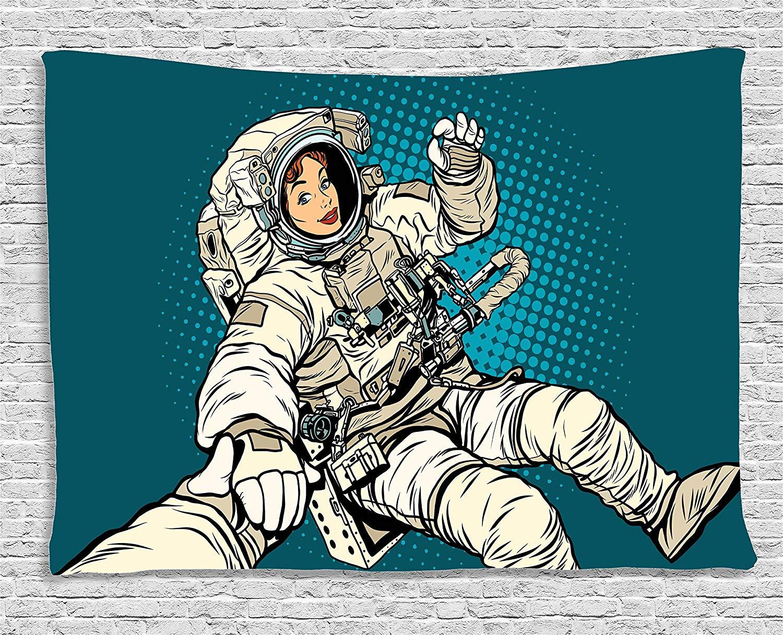 astronauts with ok symbol - 1000×780