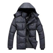 Большой Размер Мода Зима Хлопка-Ватник Мужчины Районными Заполнения Толщиной Стиль Мужские Теплое Пальто Одежда для Мужчин