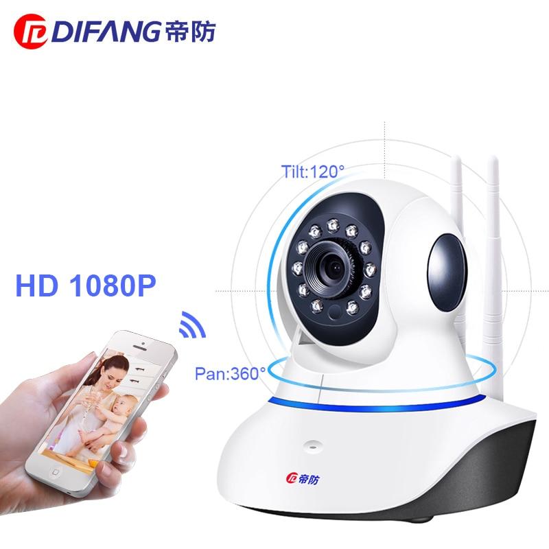DiFang 2018 1080 P HD caméras de sécurité de Surveillance wifi Vision de Nuit Bébé Moniteur hd CCTV Caméra IP Sans Fil de Sécurité À Domicile