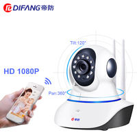 DiFang 2018 1080P HD Surveillance Camera Wifi Night Vision CCTV Camera Baby Monitor IP Camera Wireless