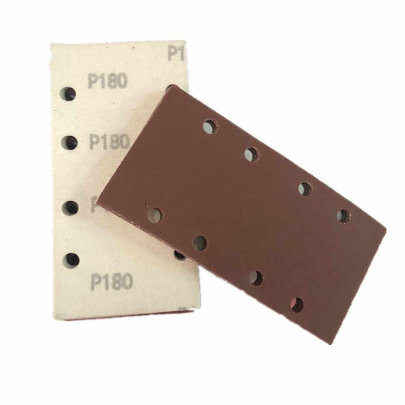 grano 80 WFE/&QFN Papel de lija 20 piezas 7 pulgadas 180 mm///disco de papel de lija redondo Hojas de arena Grano 60-1200 Disco de lijado de gancho y bucle para arenas lijadoras