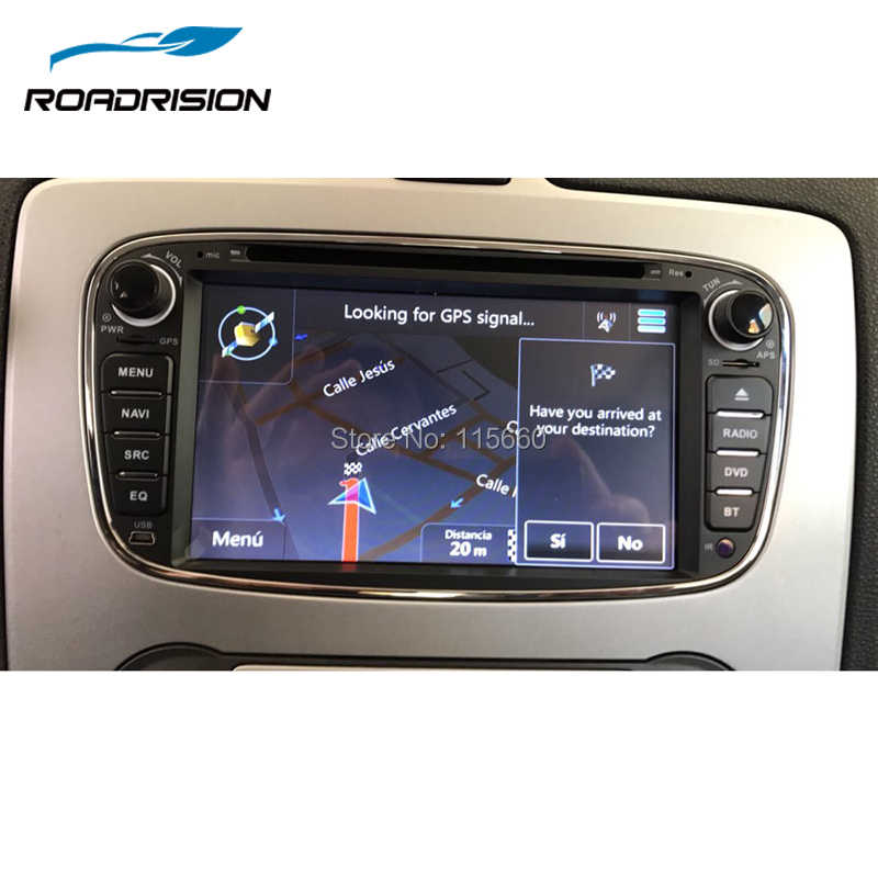 ... RoadRision Android 6.0 2 Din 7 Inch Car DVD Player For FORD Mondeo S- d103ddc641c3