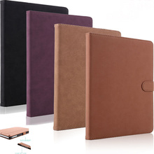 Retro Ipad 2 3 4 Case Pu Leather Smart Sleep Protection Cover Shockproof Anti Dust Protective