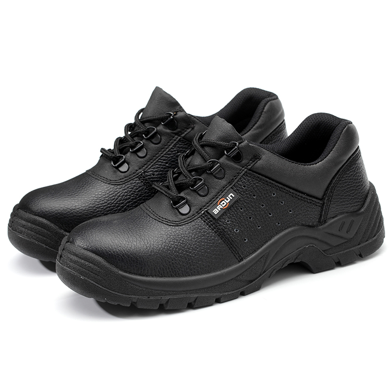 Chaussures Travailleur Embout Cuir Taille En Sécurité De Plate Chantier Acier Véritable forme Noir Mens Travail Bottes Grande Respirant Au xTn0XIOqq