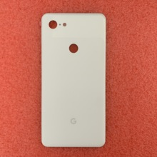 Новое поступление для Google Pixel 3 белая оригинальная Задняя стеклянная крышка для батареи Чехол для Google Pixel 3 задняя дверца-крышка лента