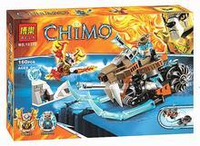 Совместимость Лепин Chimaed Strainor Сабля Цикла 70220 Строительные Блоки Minifigures БЕЛА 10350 Лаваль Племени Lion Игрушки Для Детей