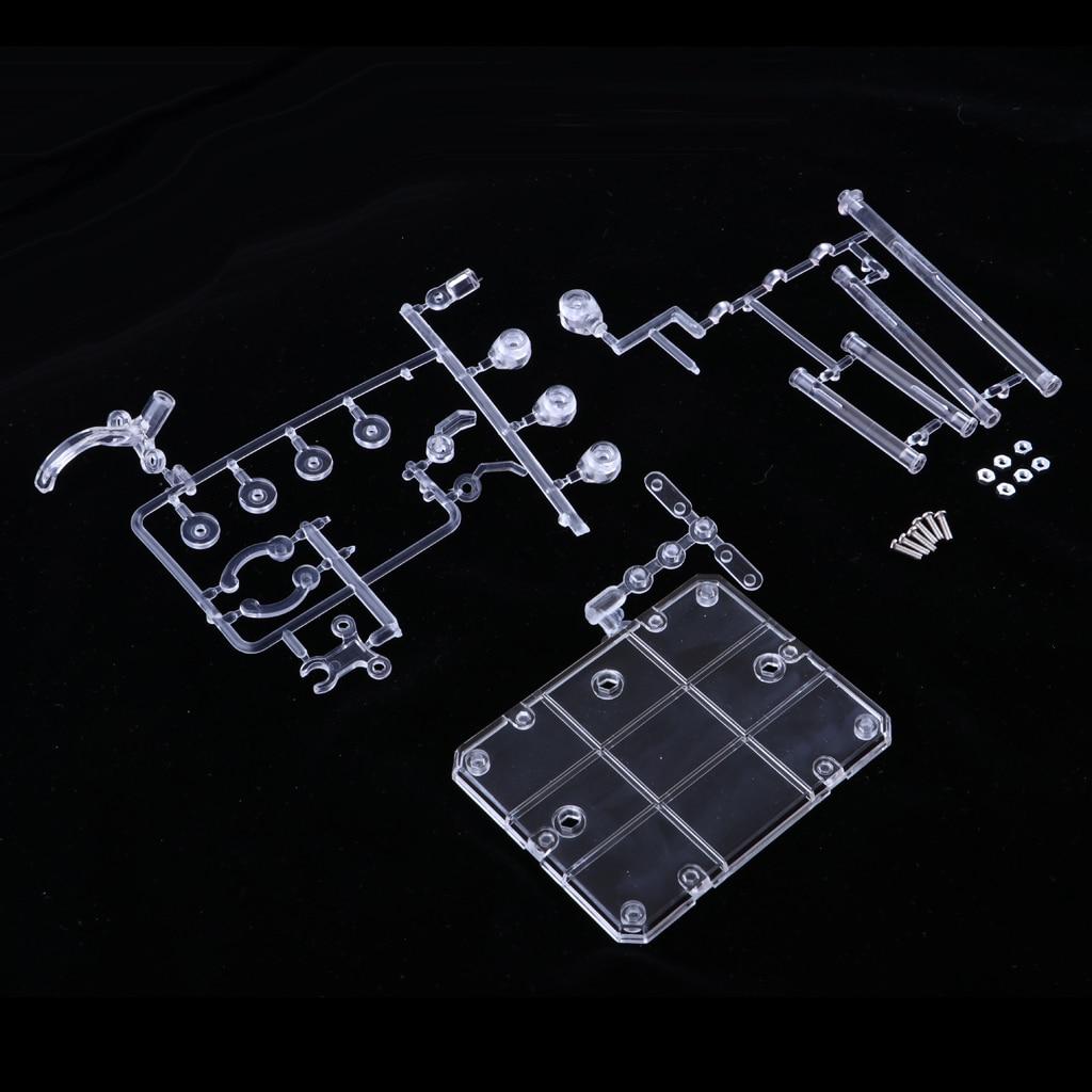Image 5 - Azione Base Supporto Del Banco di mostra Rack Figura Modello di Supporto della Staffa per 1/144 HG RG SD Robot shf Saint Seiya Soul gundamAction figure e personaggi giocattolo   -