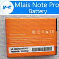 Mlais Note Pro Battery New Original 3200mAh Backup Bateria For Mlais Note Pro Mobile Phone