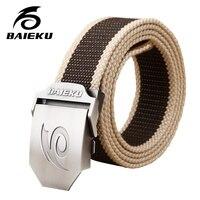 Baieku Comfortable And Breathable Canvas Belt Leisure Joker Style