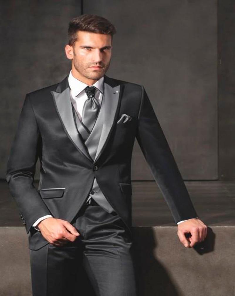 Shiny Black Suit - Hardon Clothes