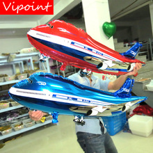 VIPOINT PARTY 42*82cm blue pink airplane foil balloons wedding event christmas halloween festival birthday party HY-124