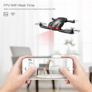 Image 4 - Foldable RC Drone SYMA Z1 HD Camera 2.4Ghz 6 axis Remote Control Wifi Qudacopter 4CH Smart RC Drone Optical Flow Positioning